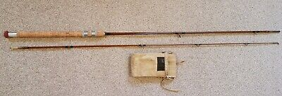 Sharpes Of Aberdeen 7ft 6in. Greenheart Spinning Rod. Excellent Condition. • 45£