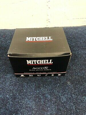 Mitchell Avocet Black Edition 6500fs With Line • 25.99£
