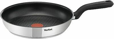Tefal 30 Cm Comfort Max, Induction Frying Pan, Stainless Steel, Non Stick • 22£