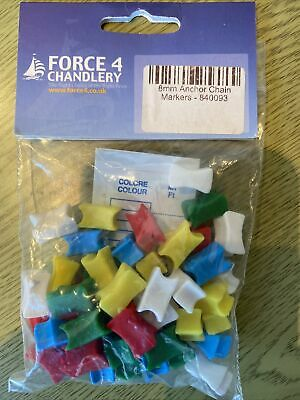 8mm Anchor Chain Markers • 5£