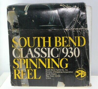 BNIB South Bend Classic 930 Spinning Reel • 0.99£