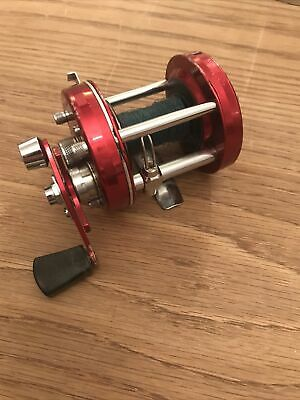 Abu Ambassadeur Collectors Red 6500 Multiplier Reel 1980 Swedish • 26£