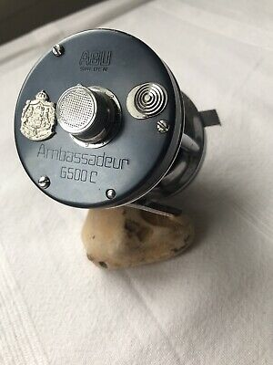 Abu Ambassadeur 1974 6500c Gunmetal Grey Multiplier Reel Swedish • 72£