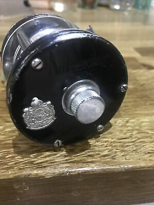 Abu Ambassadeur 5000c 4 Screw Rare Collectors Fishing Multiplier Reel Swedish • 52£