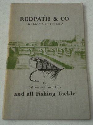 A Scarce Vintage Copy Of Circa 1960 Redpath & Co Advertising Fishing Catalogue • 25.99£