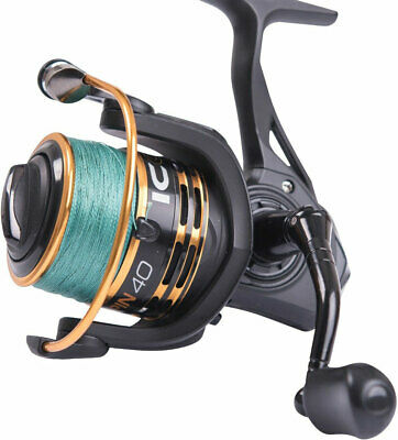 Leeda Icon Spin 40 Reel Loaded With 20lb Braid / Lure Spinning Fishing Reel • 33.95£