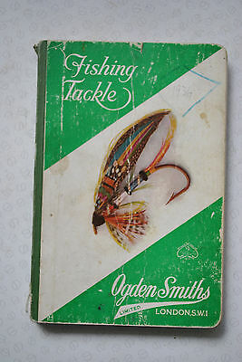 Scarce Vintage Ogdon Smith Advertising Fishing Catalogue Circa 1936 • 32.99£