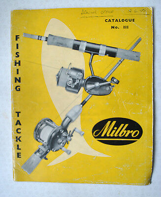 Rare Vintage Milbro Trade Fishing Advertising Catalogue For 1959 • 44.99£