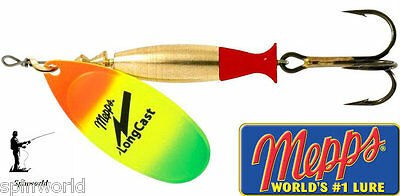 Mepps Long Cast TIGER Spinners Variety Sizes - Cover More Water !!! • 5£