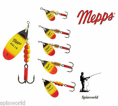 Mepps Aglia Furia Variety Sizes  !!!               PERCH , ESOX, CHUB , TROUT  • 4.93£