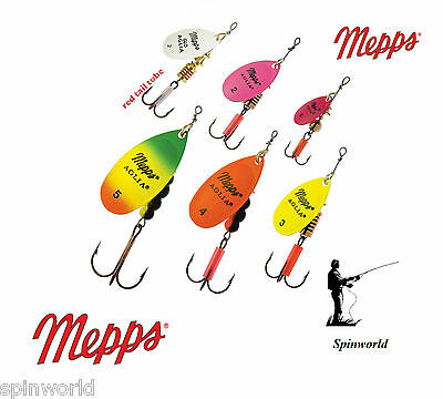 Mepps Aglia FLUO Variety Sizes & Colours Original Mepps Straight From France  • 4.33£