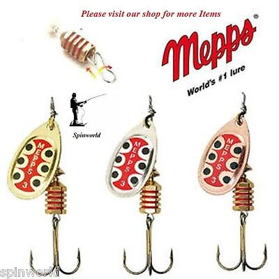 Mepps TW Spinner Variety Colours & Sizes 1st Class Post  • 4.70£