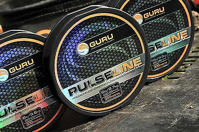 Guru Pulse Mono Carp Fishing Line - 300m Spools - All Breaking Strains  • 9.65£