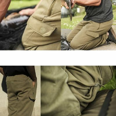 Korda Olive Joggers Zip Pockets All Sizes Carp Coarse Fishing Jogging Bottoms • 38.69£