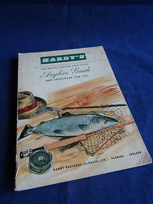Vintage Hardy Advertising Fishing Catalogue Anglers Guide For 1961 • 16.99£