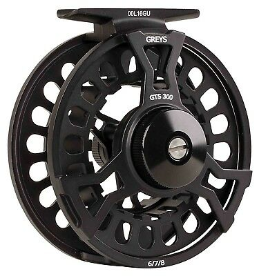 Greys New 2018 GTS300 4/5/6 & 6/7/8 Fly Fishing Freshwater Trout Fishing Reels • 43.88£