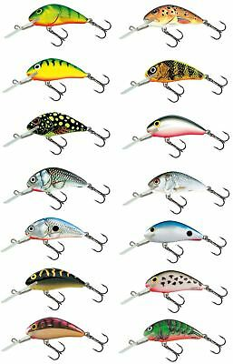 Salmo Hornet Floating Crankbait Medium / Perch Pike Lure Plug • 6.96£