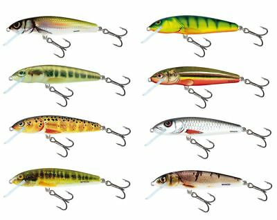 Salmo Minnow Floating Crankbait  5cm / Perch Pike Lure Plug • 5.99£