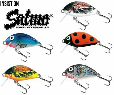 Salmo Tiny Bug Floating Crankbait / Pike Perch Lure Plug • 5.99£
