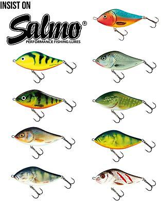 Salmo Slider Sinking Jerkbait / Pike Perch Lure Plug • 6.49£
