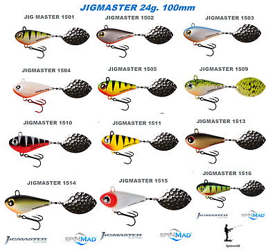 Spinmad JIGMASTER 24g. 100mm. Excellent For Pike & Zander 1st Class Post • 6.75£