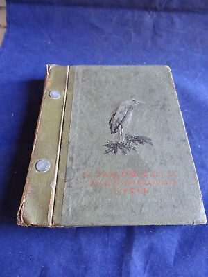 Scarce Vintage C Farlow Advertising Fishing Catalogue Circa Early 1920's • 46.99£