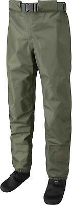 Leeda New Profil Stocking Foot Breathable Fly Fishing Waist Waders - All Sizes • 74.50£