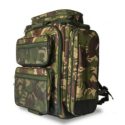 Saber Camo 90lt Rucksack Backpack Fishing Camping Bag Military DPM Hiking Travel • 59.99£
