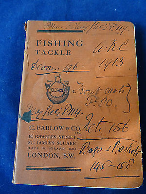 A Rare Vintage C Farlow & Co Advertising Fishing Catalogue 1913 • 149.99£