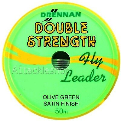 Drennan Double Strength Fly Leader Tippet Material • 4.95£