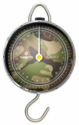 Saber Fishing Scales Camo Dial DPM Portable Weigh Travel Carp Sea Tackle 60lb UK • 24.99£