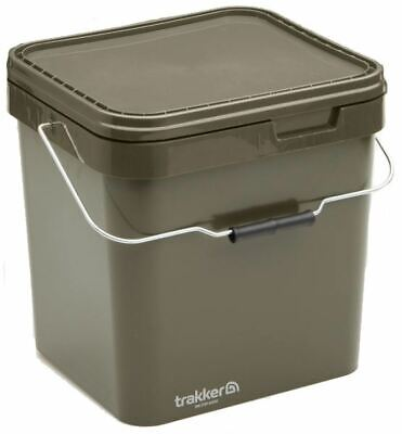 Trakker  17 Ltr Olive Square Container / Carp Fishing • 10.99£