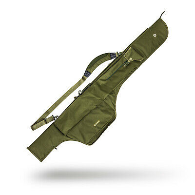 Saber 3 Fishing Rod Bag Travel Sleeve 12ft Reel Carp Padded Holdall Coarse Case • 44.99£
