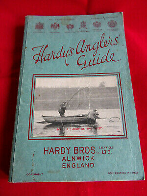 A Very Good Vintage Hardy Advertising Fishing Catalogue Anglers Guide 1937 • 44.99£