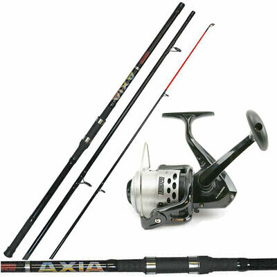 12ft 3piece Tronixpro Axia Beachcaster / Pier Sea Fishing Rod & Axia 7000 Reel • 146.95£