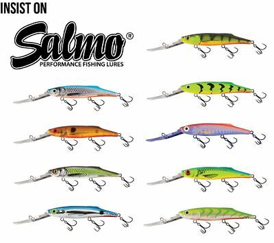 Salmo Freediver Super Deep Runner Crankbait / Pike Zander Fishing Lures • 10.49£