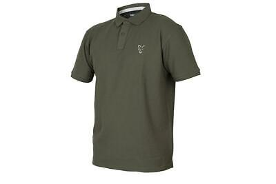 Fox Collection Green Silver Polo Shirt • 20.99£