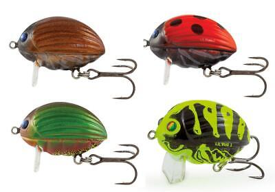 Salmo Lil' Bug Floating Crankbait 2cm 3cm Fishing Lures • 5.99£
