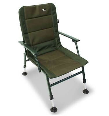NGT XPR Fishing Chair Carp Coarse Chair With Aarm Rests Adjustable Mud Feet • 54.76£