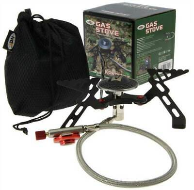 NGT Fishing Gas Portable Stove Compact High Output Bivvy Shelter Camping 3000w • 24.98£