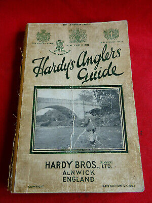 A Scarce Vintage Hardy Advertising Fishing Catalogue Anglers Guide 1931 • 34.99£