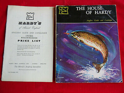 A Good Vintage Hardy Advertising Fishing Catalogue Anglers Guide For 1966 + P.l. • 19.99£