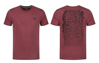 Korda LE Scaley Tee Burgundy Black / Carp Fishing T-Shirt • 19.99£