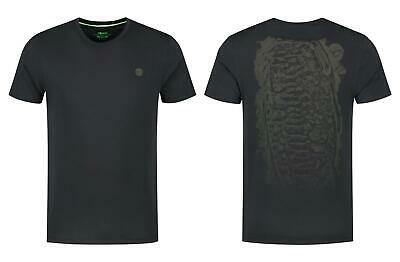Korda LE Scaley Tee Black Olive Carp Fishing T-Shirt • 19.99£