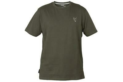 Fox Collection Green Silver T-Shirt / Carp Fishing Clothing • 16.99£