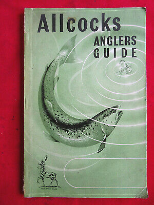 A Vintage Allcocks Advertising Fishing Catalogue For Circa 1954/55 • 19.99£