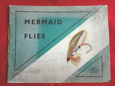A Scarce Vintage Large Format Ogdon Smiths Mermaid Flies Fishing Catalogue • 12.99£