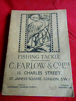 A Rare Vintage C Farlow & Co Advertising Fishing Catalogue 1915 75th Edition • 109.99£
