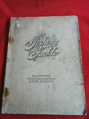 A Scarce Vintage Large Format W J Cummins Fishing Catalogue 1932 • 39.99£