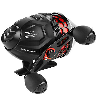 KastKing Brutus Spincasting Reel Bass Fishing Reel With Line 11 LB Smooth Drag • 29.99£